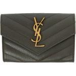 Grey Uptown Compact Wallet