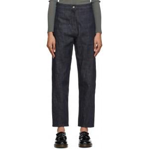 Navy Twist Jeans