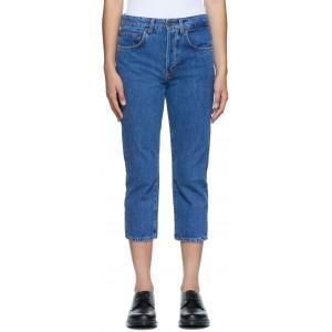 Blue Shorty Jeans