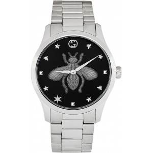 Silver G-Timeless Bee Watch