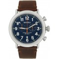 Silver & Blue 'The Runwell' 47mm Watch