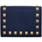 Blue Valentino Garavani Rockstuds Wallet