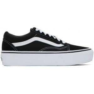 Black Old Skool Platform Sneakers
