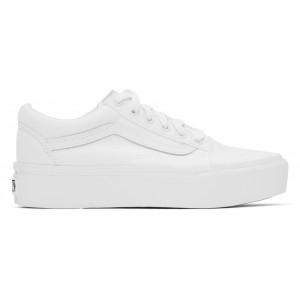 White Old Skool Platform Sneakers