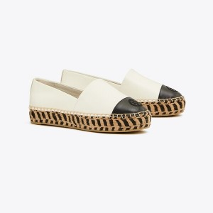 COLOR-BLOCK PLATFORM ESPADRILLE