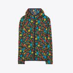 Printed Nylon Packable Jacket