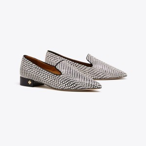 PASCAL PRINTED SMOKING SLIPPER