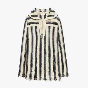 Striped Baja Pullover