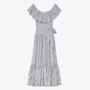 Eyelet Embroidered Dress