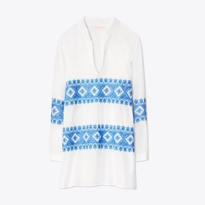 STEPHANIE EMBROIDERED TUNIC