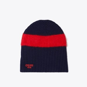 STRIPED SKI BEANIE