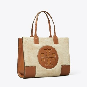 ELLA SHEARLING MINI TOTE