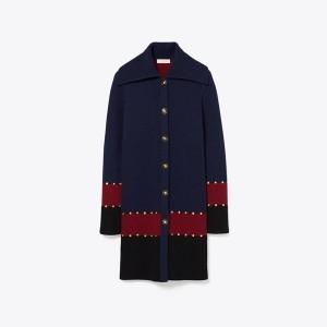 Stud Sweater Coat