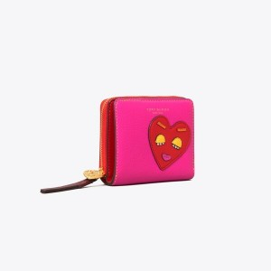 PERRY PATCHWORK HEARTS BI-FOLD WALLET