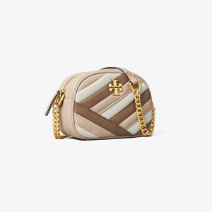 KIRA CHEVRON COLOR-BLOCK SMALL CAMERA BAG