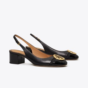 MINNIE CAP-TOE SLINGBACK PUMP