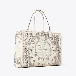 Ella Printed Leather Tote Bag