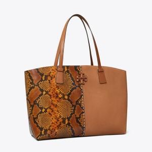 McGraw Embossed Tote Bag