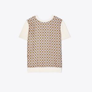 Silk Front T-Shirt