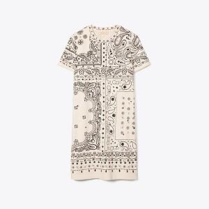 Bandana-Print T-Shirt Dress
