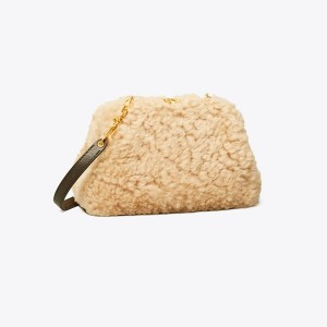 Cleo Shearling Small Bag