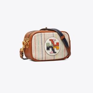 Perry Canvas Color-Block Mini Bag