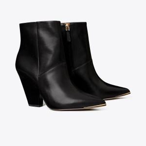 Lila Zip-Up Ankle Bootie