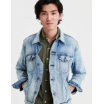 AE Light Wash Denim Jacket