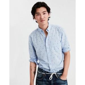 AE Long Sleeve Button Down Shirt