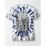 AE Tie-Dye Black Panther Graphic T-Shirt