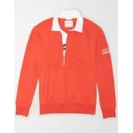 AE Fleece Graphic Rugby Sweatshirt