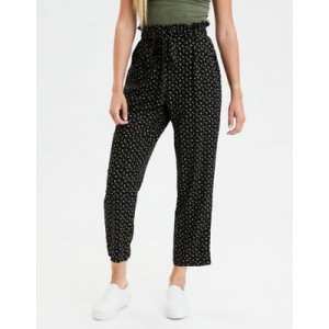 AE High-Waisted Striped Tapered Pant