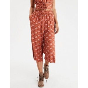 AE High-Waisted Floral Culotte