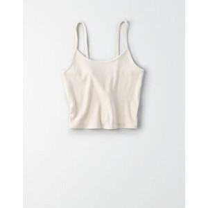 AE Ribbed Cropped Tank Top
