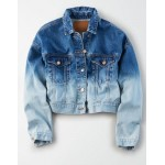 AE Dip Dyed Denim Jacket