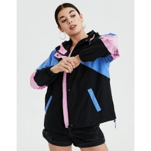 AE Colorblocked Windbreaker Jacket