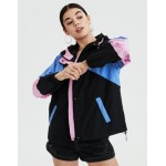 AE Colorblocked Windbreaker Jacket
