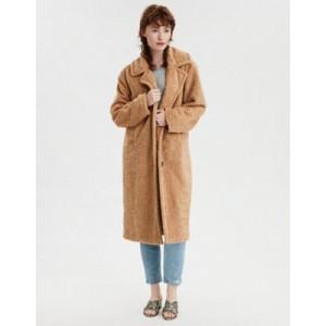 AE Fuzzy Faux Sherpa Coat