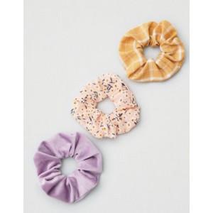 AEO Floral Scrunchie 3-Pack
