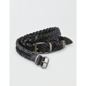 AEO Braided Double Buckle Waist Belt