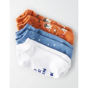 AEO Space Cat Ankle Sock 3-Pack