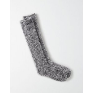 AEO Fuzzy Sherpa Marled Knee-High Sock