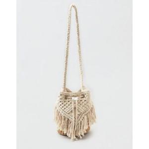 AEO Macrame Bucket Bag