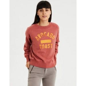 AE Food Graphic Crewneck Sweatshirt