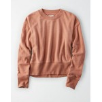AE Ribbed Pullover Sweatshirt
