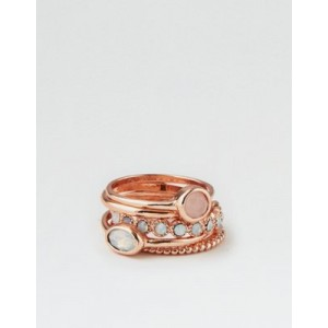 AE Rose Gold Stacking Ring 5-Pack