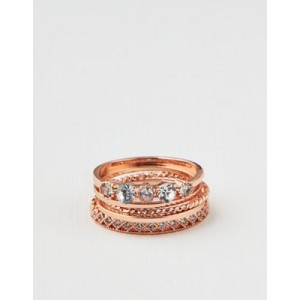 AE Rose Gold Clear Crystal 5-Pack