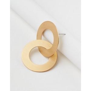 AE Double Frontal Metal Hoop Earring