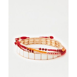 AE Red 4-Pack Bracelet Arm Party