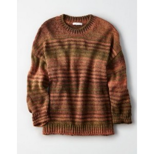 Don't Ask Why Oversized Crew Neck Sweater